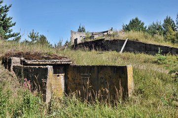 Abandoned military constructions, Russia