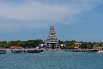 Temple Nagapooshani Amman Kovil, Nainativu, Jaffna, Sri Lanka