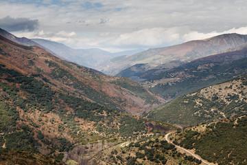 Valle de la Cabrera, León, España.