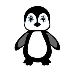 Baby Penguin standing cute animal