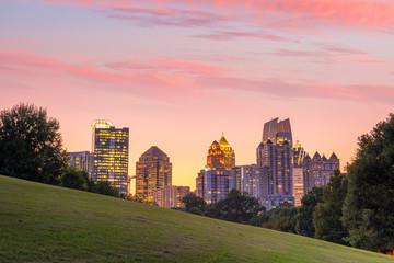 Fotomurales - Midtown Atlanta skyline