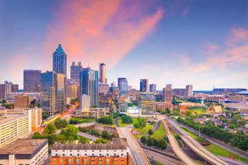 Fotomurales - Skyline of Atlanta city