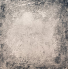 Gray Grunge Textured Wall. Copy Space