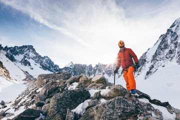 Ski Mountaineering and Climbing in The Alps