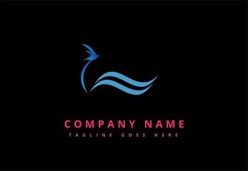 vector logo Marine