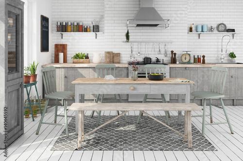 skandinavische nordische k che wohnung esszimmer stock photo and royalty free images on. Black Bedroom Furniture Sets. Home Design Ideas