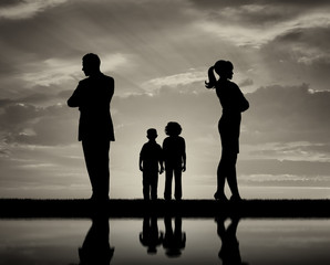 Conflict and divorce in the family