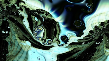 Watercolor. Oil stains on water. 3D surreal illustration. Sacred geometry. Mysterious psychedelic relaxation pattern. Fractal abstract texture. Digital artwork graphic astrology magic