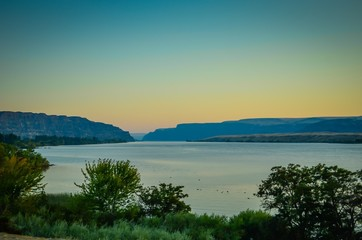 Columbia River in Washington State, USA