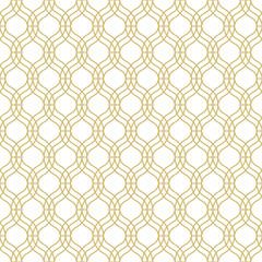 Seamless geometric vector pattern in oriental style