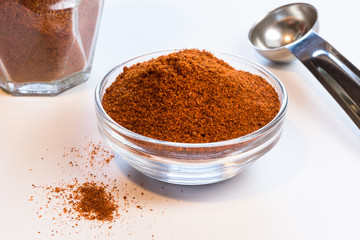 Cayenne in an ingredient bowl