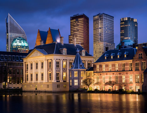 Dutch Parlement and the museum 'Mauritshuis'.