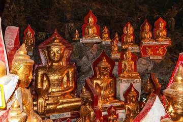 Myanmar  - Burma - Pindaya - Golden Cave Pagoda
