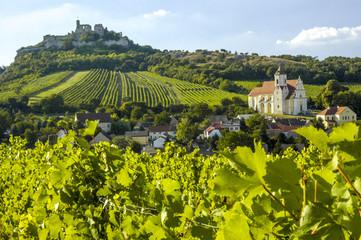 Weinregion Falkenstein im Weinviertel, Österreich, Niederöster