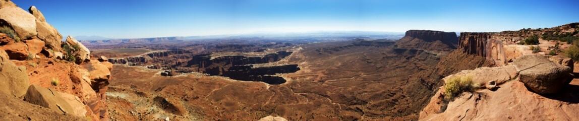 Panoramic, Canyonland National Park, Utah