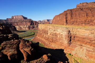 Green River, down in Canyonland National Park, Utah