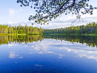 Lemmenjoki Nationalpark, Finnland, Lappland, Lemmenjoki
