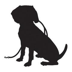 Beagle Silhouette Leash