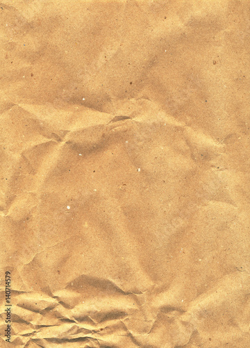 Scanned kraft paper illustration, texture, packing material