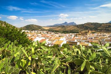 Algodonales, Cadiz Province, Andalusia, Spain.