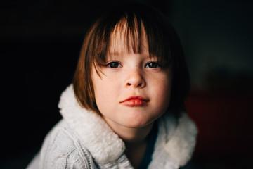 Portrait of little girl†