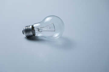 electric bulb on the table