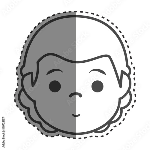 """young Man Ethnicity Avatar Character Vector Illustration"