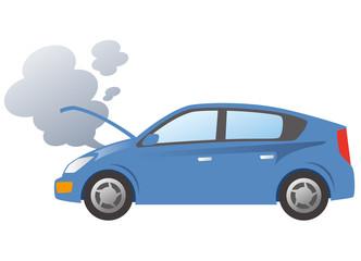 自動車の故障