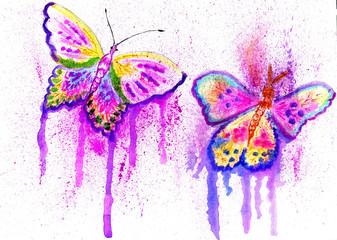 Painted Butterflies Design