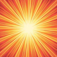 Explosion boom background