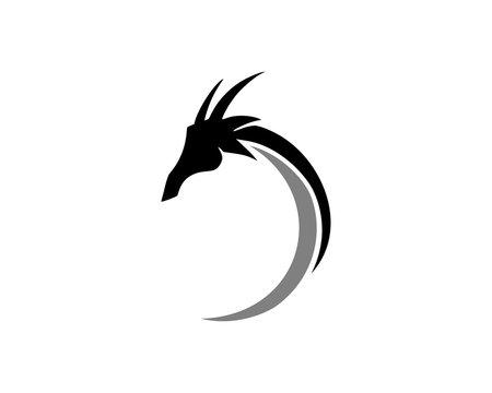 abstract dragon logo
