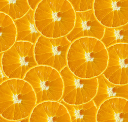 background texture of fresh orange, fruit pattern