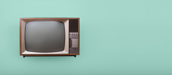 Vintage television header