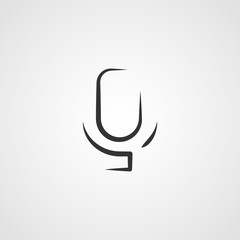 Voice, suggestion, tape icon vector image. Can also be used for mobile apps, phone tab bar and settings. Suitable for use on web apps, mobile apps and print media