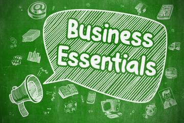 Business Essentials - Business Concept.