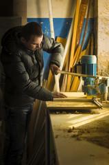 Carpentry workshop routine