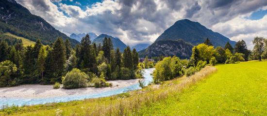 Wall Mural -  Location place: Triglav national park, Julian Alps. Slovenia, Europe.