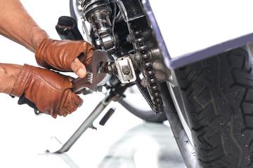 Motorcycle mechanic,Technician