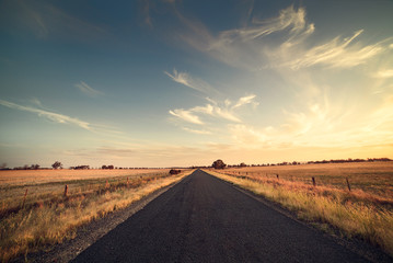 Road in the Australian Outback