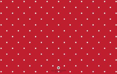 white polka dot red wallpaper
