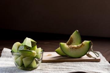 cantaloupe melon (cantaloupe)
