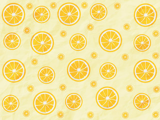 Colorful orange pattern background
