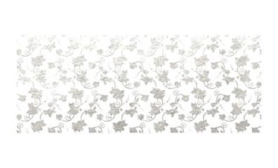 Flower silver foil design
