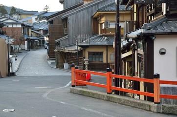 京都 二寧坂付近の通り