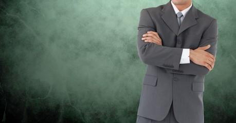 Composite image of Businessman Torso