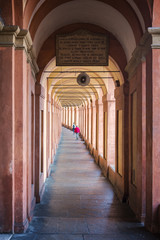 Bologna covered portico