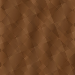 Brown color polygon background