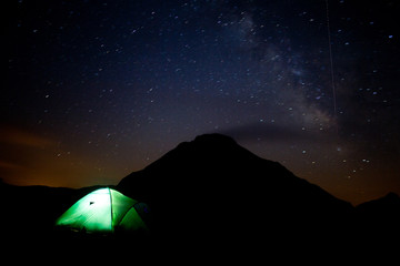 Sleeping with the stars in Cantal