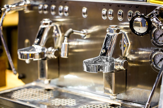 Coffee machine ready to use