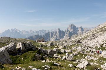 Paesaggio delle dolomiti